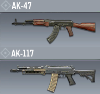 macros for call of duty mobile on ak47 and ak117