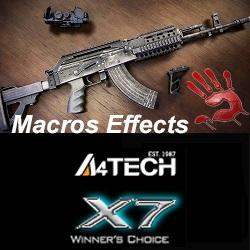 macros for pubg on beryl - x7, bloody, macros effects