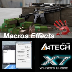 macros for pubg on m416 - x7, bloody, macros effects